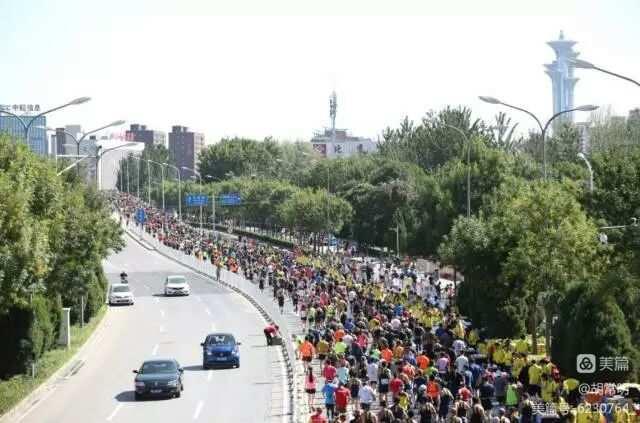 2017北京马拉松照片集锦 下图片