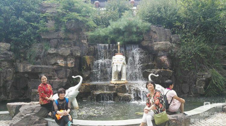 【原创】黄尚和他的痱子们微服七上穹窿山 - 秋香 - 方人雨