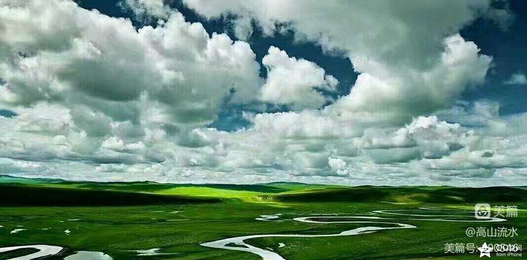 【原创】借着梦的翅膀飞向呼伦贝尔大草原 - 秋香 - 方人雨
