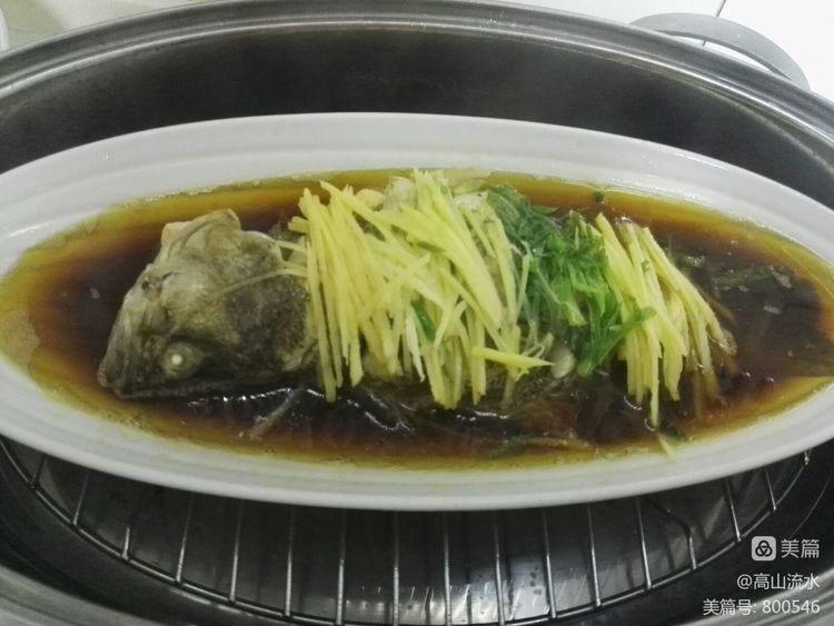 【原创】豆豉鳊鱼(我的作业) - 秋香 - 方人雨
